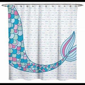 Other - Mermaid shower curtain waterproof fabric 72x72